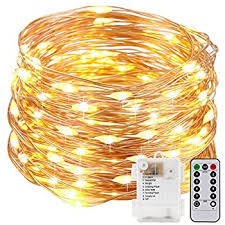 aa battery light bulb kohree fairy string lights with remote control 60 leds aa battery