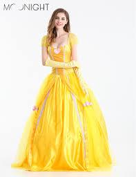 halloween costumes belle beauty beast yellow belle dress beauty beast reviews online shopping yellow