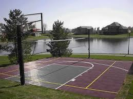 47 best basketball courts images on pinterest backyard ideas