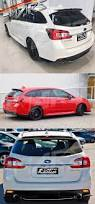 subaru roof spoiler sti sports style rear roof spoiler lip wing cover for subaru