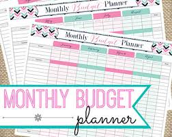8 best images of cute free printable budget tracker free
