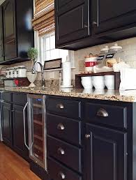 Black Cabinets Kitchen Black Kitchen Cabinets Makeover Reveal Hometalk