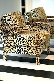Zebra Chair And Ottoman Zebra Print Chair And Ottoman Animal Print Furniture Zebra Accent