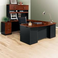 U Shaped Desk U Shaped Desk Shop Wrap Around Desk With Desk Hutch Nbf