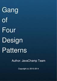 of four design patterns of four java design patterns mock