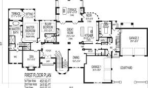 big house floor plans house floor plans blueprints story bedroom large home