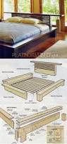 Platform Bed Woodworking Plans Diy by Ana White Build A Rustic Modern 2x6 Platform Bed Free And Easy