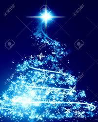 white and blue christmas trees u2013 happy holidays