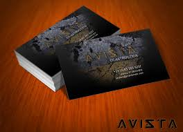 Best Visiting Card Designs Psd Latest Avista Business Card Design Psd Business Card Design