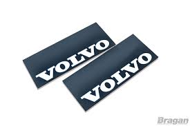 logo volvo trucks to fit volvo uv rubber front mudflap mudguards mud flaps white
