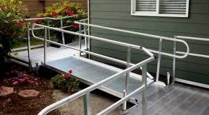 wheelchair ramp considerations caregiver aid com
