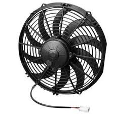 5000 cfm radiator fan spal 12 puller high performance electric fan curved blade 1450