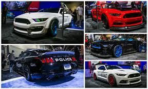 pictures of mustangs seven would be few ford showing 8 modified mustangs at sema