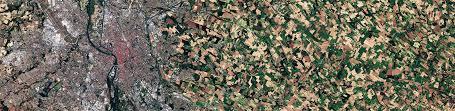 land pattern en francais theia land data centre
