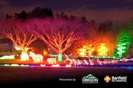 oregon zoo lights 2017 here are the best 13 places in oregon to see christmas lights that