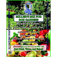 shop miller llc 1 5 cu ft organic flower and vegetable garden soil