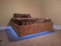 floating beds magnetic floating bed diy