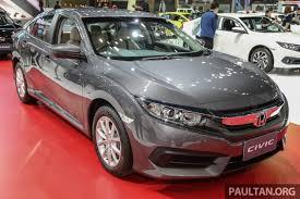 honda car singapore 2016 honda civic s pore gets 1 6 only from rm318k