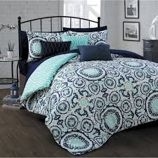 Custom Comforters And Bedspreads Avondale Manor Leona 10 Piece Bed In A Bag Set Master Bathroom
