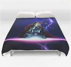 Marvel Bedding Queen Marvel Thor Duvet Comforter Cover Bedding U2013 Superhero Sheets