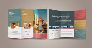 folded brochure corporate bi fold brochure template 01 corporate