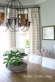 Checkered Curtains by Canadian Cottage Style Holly Mathis Interiors
