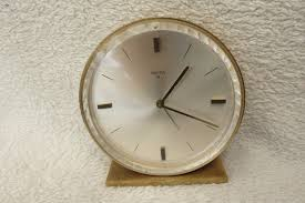 Minimalist Alarm Clock by Vintage Working Swiza 8 Day Brass Alarm Clock View More On The