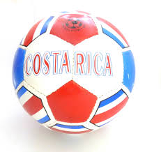 Costarica Flag Colombia Soccerball