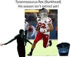 Nebraska Football Memes - rex burkhead memes burnpoetry