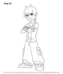 learn draw ben 10 ben 10 step step drawing tutorials