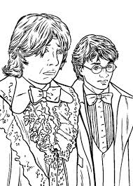 harry potter and ron weasley coloring pages for kids fd2