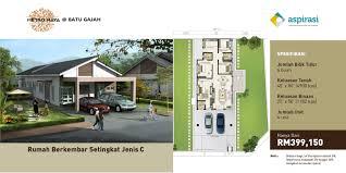 metro maya u2013 single storey semi d type a spnb aspirasi