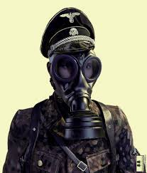 gas mask costume german gas mask and helmet wwii 3d cgtrader