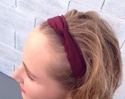 stretchy headbands grey headband headbands for women top knot headband
