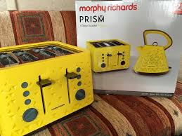 Morphy Richards Toaster Yellow Prism 108108 Prism Kettle In Yellow By Morphy Richards Kitchen
