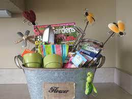 Gardening Basket Gift Ideas Garden Gift Basket Ideas Lights Decoration