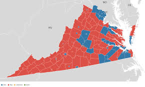 West Virginia Map With Counties by Virginia Election Results 2016 Live Maps Polling Analysis