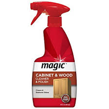 how to remove odor from wood cabinets amazon com magic wood furniture cleaner and polish 14 fluid ounce
