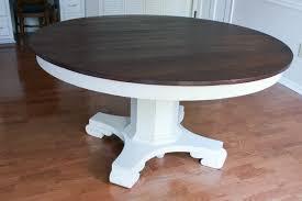Pedestal Table Antique Pedestal Table Makeover Tutorial Erin Spain