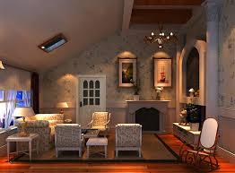jane european style small loft living room interior design