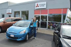 why one young woman bought a 2014 mitsubishi mirage frugal shopping