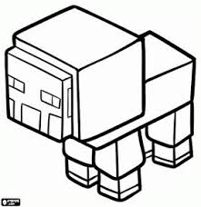 minecraft sheep coloring aww
