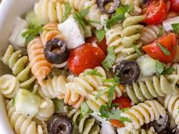 recettes de salade de pâtes