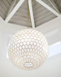 Kovacs Chandelier by Capiz Honeycomb Chandelier Via Serena U0026 Lily Bright Ideas