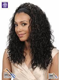 headband wigs bobbi boss premium synthetic headband wig m905w badu w
