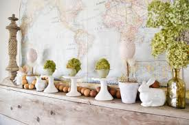 spring mantel easy decor to welcome the new season my creative days