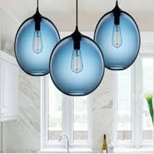Blue Glass Pendant Light Lighting Fixtures Cobalt Pendant Blue Glass Light Fixture Shade