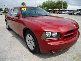 inferno red crystal pearl 2007 dodge charger sxt exterior photo