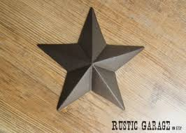 metal star home decor rustic star home decor