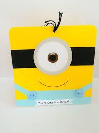 25 unique minion card ideas on pinterest minion birthday card